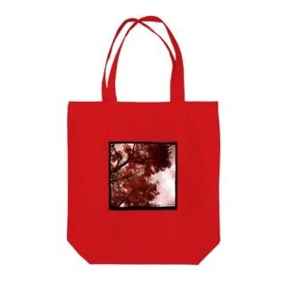 見上げた木のトート8 Tote bags