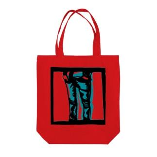 デニム Tote bags