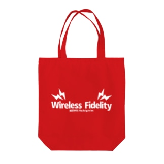 Wi-Fi (deep color) Tote bags