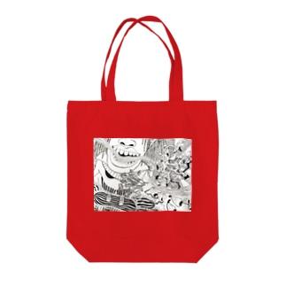 naccoro's drowing Tote bags