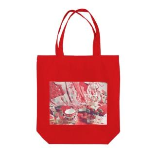 いちごルーム Tote bags