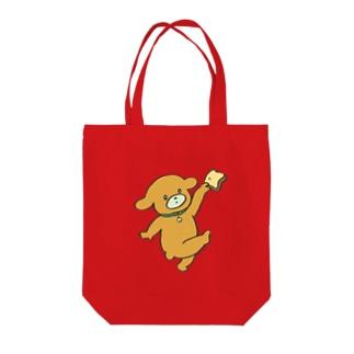 しょくパンいっぬ Tote bags