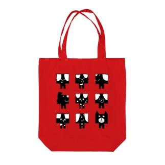 カレミニョン9 Tote bags