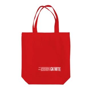 11/7 GK NITE トートバッグ Tote bags