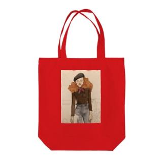 おしゃれさん Tote bags