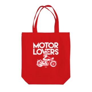 Motor Loves Tote bags