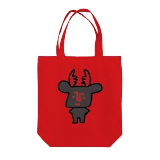 黒BUSHIKA Tote bags