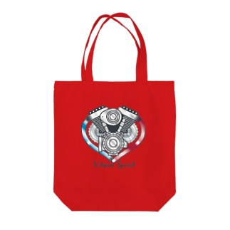 V-twin Spirit Tote bags