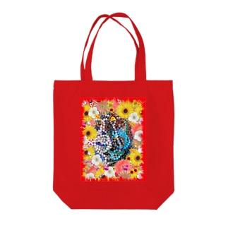 綺麗な花と素敵なジュエリーたちの競演01 Tote bags