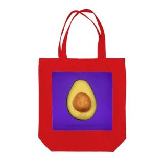 アボガド Tote bags