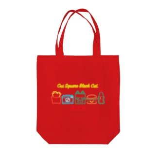 NEON SIGN Tote bags