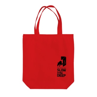 SLOW in the DEEP公式グッズ Tote bags