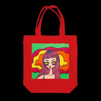 ユウカのnatsu Tote bags
