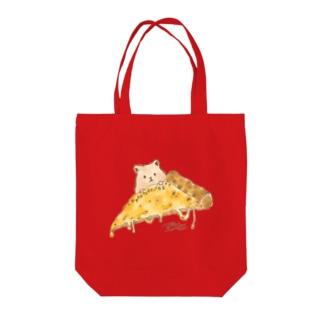 クアトロフォルマッジ先輩 Tote bags