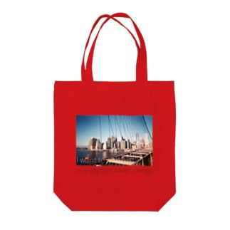 New York, New York Tote bags