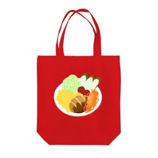 ひよこのお店のトルコライス Tote bags