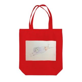 スプラッシュ Tote bags