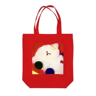 くるまのワンワン Tote bags