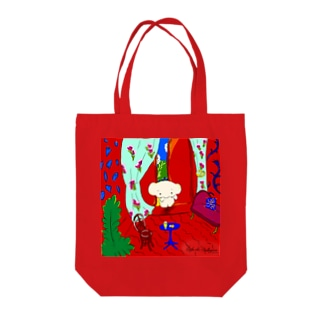 The Red Room/Cafe de Calkyon Tote bags