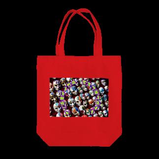 gozu brandの世の中に一言シリーズ Tote bags