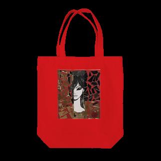 田代りえ子のtashirorieko鏡の乙女 Tote bags