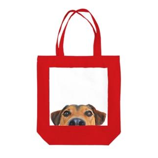 いないいないばぁワンコTo-To Tote bags