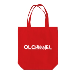 OL CHANNEL(ver.A) Tote bags