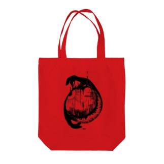 抽象画トートバック Tote bags