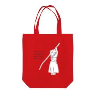 薙刀女子 Tote bags