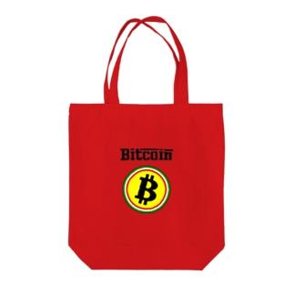 カマラオンテのビットコイン イタリア風 フェラーリ風 仮想通貨 トレード トレーダー 暗号通貨 FX Tote bags