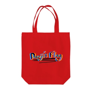 Daoji's Flagロゴ Tote bags