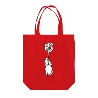 ジャム受け係のプレーリードッグ Tote bags