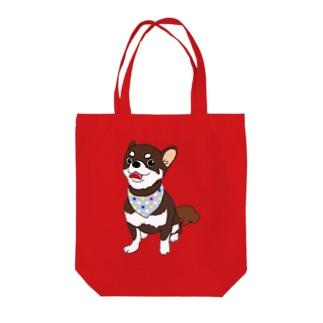 チワワのコロン Tote bags