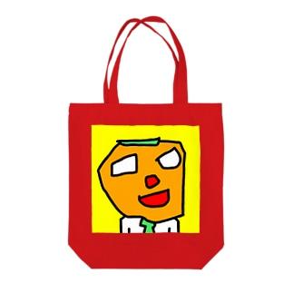 サラリーマン渋柿男 Tote bags