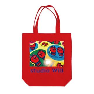 studio Will×INGRID カラフルトートバックB Tote bags