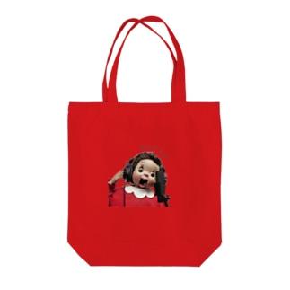 おしゃスタふくちゃんトート Tote bags