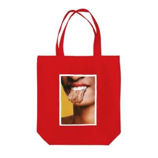 タン Tote bags