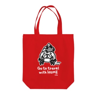 Go to travel with HOME(typeB) Tote bags