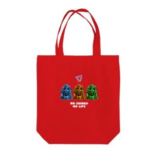 NO SHINGO NO LIFE Tote bags
