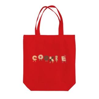 クッキーアソート Tote bags