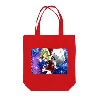 サンタガール Tote bags