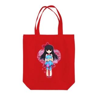 メンヘラ観音 Tote bags