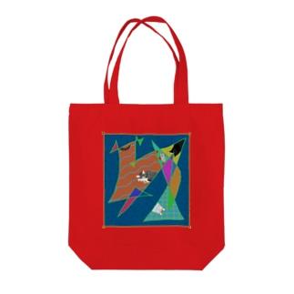 猫かわいい Tote bags