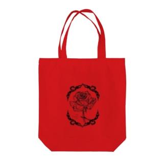 Rose_line Tote Bag