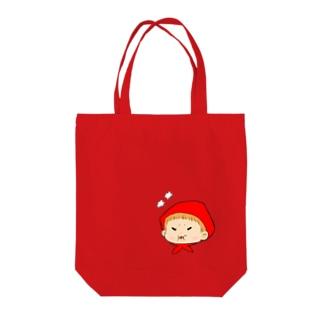 ベビーガール(怒る) Tote bags