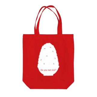 お茶碗とご飯 Tote bags