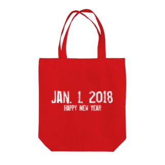 happy New Year 2018 Tote bags