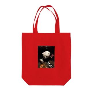 生ける屍シロクマ Tote bags