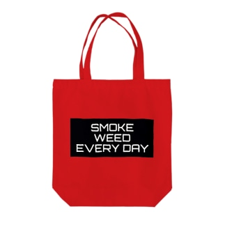 SMOKE WEED EVERY DAY トートバッグ
