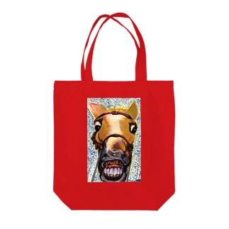 馬面 Tote bags